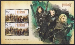 New Zealand 2014 The Hobbit - The Battle Of The Five Armies Minisheet MNH - Unused Stamps