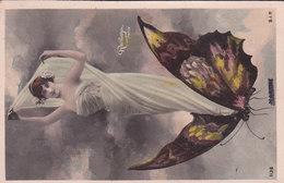 Reutlinger. Papillon. Voyagée 1906 - Frauen