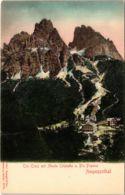 CPA Ampezzothal Tre Croci Mit Monte Cristallo ITALY (802585) - Altre Città
