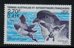 T.A.A.F. // 2001 //  No.288 Y&T Neuf**Faune, Pétrel Plongeur - Neufs