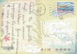 Croatia 2002 Picture Postcard To Italy With 3,50 K. Vis - Croatie