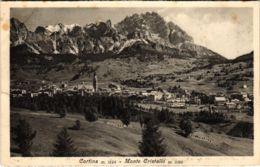 CPA Cortina Monte Cristallo ITALY (802678) - Altre Città