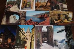 Lot De 100 Cartes Postales Modernes CPM Sur La FRANCE, Voir Les Photos. - 100 - 499 Karten
