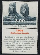 T.A.A.F. // 2001 //  No.296 Y&T Neuf** L'Arche Des Kerguelen - Neufs