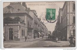 MONTCEAU LES MINES RUE CARNOT 1908 TBE - Montceau Les Mines