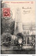 AUTUN MONUMENT DES COMBATTANTS DE 1870 1905 TBE - Autun