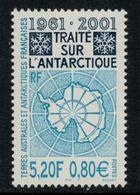 T.A.A.F. // 2001 //  No.306 Y&T Neuf** 40ème Anniversaire Du Traité De L'Antarctique - Neufs