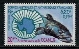 T.A.A.F. // 2001 //  No.307 Y&T Neuf** 20ème Anniversaire De La CCAMLR - Neufs