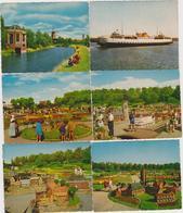 Lot De 10 Cartes Miniatures De Walcheren, Vlissingen, Et  Middelburg - Nederland