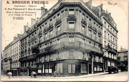 75005 PARIS - Ets BERGER Frères, Rue Thénard. - Arrondissement: 05