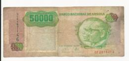 Angola 50000 Kwanzas 1991 Fine - Angola