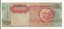 Angola 10000 Kwanzas 1991 VF - Angola