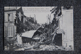 Militaria : Guerre 1914 -18 : REIMS, Maison écroulée Par Un Obus, Rue CERES. - Oorlog 1914-18