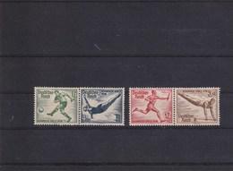 A1 /   Drittes Deutsches Reich Zusammendruck Olympia 1936 W105 W109 ** - Se-Tenant