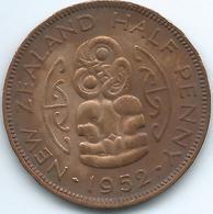 New Zealand - George VI - 1952 - ½ Penny - KM20 - UNC - Nouvelle-Zélande