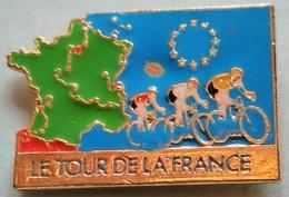 Pin's CYCLISME - LE TOUR DE LA FRANCE - Cycling