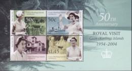 Cocos (Keeling) Islands 2004 Royal Visit M/S Mint Never Hinged - Cocos (Keeling) Islands