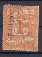 Great Britain Queen Victoria Era, Midland Railway Newspaper Parcel Stamp - 1840-1901 (Victoria)