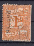 Great Britain Queen Victoria Era, Midland Railway Newspaper Parcel Stamp - Unclassified