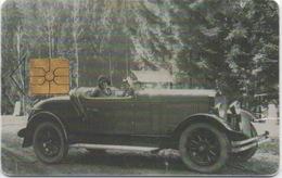 Télécarte Tchéquie : Série Automobile SKODA An2000 - Tchéquie
