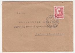 Yugoslavia FNR Letter Cover Travelled 1955 Kostajnica To Nova Gradiška B190615 - Croatie