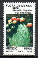 MEXIQUE. N°1148 De 1986. Cactus. - Sukkulenten