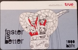 Mobilecard Thailand - True - Faster Is Better - Achterbahn - Thaïland
