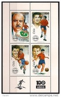 Chile 1995 - MINT -  The 100th Anniversary Of Chilean Football Association - Block - Chile