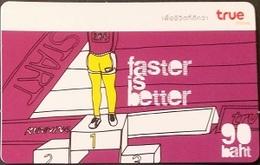 Mobilecard Thailand - True - Faster Is Better - Sport - Start - Ziel - Siegerehrung - Thaïland