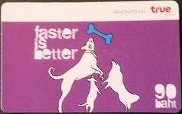 Mobilecard Thailand - True - Faster Is Better - Hund - Thaïland