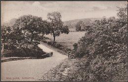 Bog Lane, Longton, Staffordshire, 1907 - Shaw Series Postcard - Stoke-on-Trent