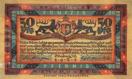50 Pfg. Notgeld Oldenburg VG/G (IV) - [11] Local Banknote Issues