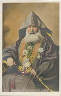 Patriarche Armenien De Jerusalem . Palestine . Hand Colored Card  Edition F. Haddad Beyrouth Beirut Lebanon Liban - Armenië