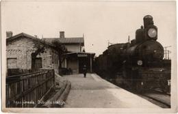 Rigas Jurmala - Dubultu Stacija - & Train, Railway Station - Letland