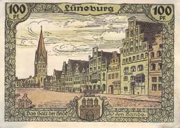 100 Pfg. Notgeld Lüneburg VF/F (III) - [11] Local Banknote Issues