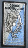 Centre D'Instruction Du Service De L'Intendance,tissu - Armée De Terre