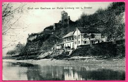 Gruß Gruss Vom Gasthaus Zur Ruine Limburg Von L. Strobel - Animée - Edit. Phot. W. HAINE - 1913 - Sasbach