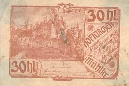 30 Hl. Notgeld Hofkirch Oberösterreich VG/G (IV) - Oesterreich