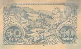 50 Hl. Notgeld Hirschbach Österreich VF/F (III) - Oesterreich