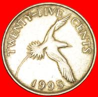 + BIRD (1986-1998): BERMUDA ★ 25 CENTS 1995! LOW START ★ NO RESERVE! - Bermuda