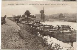 CPA - 93 - NEUILLY SUR MARNE - Sur Lea Rives De La Marne - Entrée D'une écluse - - Neuilly Sur Marne