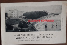 LOCQUIREC (29) GRAND HOTEL DES BAINS Lejeune à LOCQUIREC - Locquirec