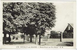 CPA - 93 - NEUILLY SUR MARNE - Rond-Point Au Pré-Fleuri - Neuilly Sur Marne