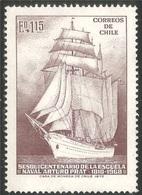 Voilier (Bateau) - Chili - 1972 - Chile