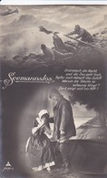 AK Matrose Mit Frau - Seemannslos - Schiffbrüchige - 1915 (41855) - Paare