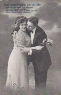 AK Ach! Einmal Blüht Im Jahr Der Mai - Liebespaar - Feldpost 1915 (41856) - Paare