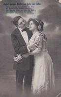AK Ach! Einmal Blüht Im Jahr Der Mai - Liebespaar - Feldpost 1915 (41857) - Paare