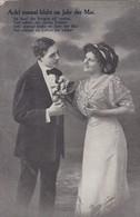 AK Ach! Einmal Blüht Im Jahr Der Mai - Liebespaar - Feldpost 1915 (41858) - Paare
