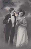 AK Ach! Einmal Blüht Im Jahr Der Mai - Liebespaar - Feldpost 1915 (41859) - Paare