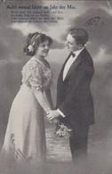 AK Ach! Einmal Blüht Im Jahr Der Mai - Liebespaar - Feldpost Merten 1915 (41860) - Paare